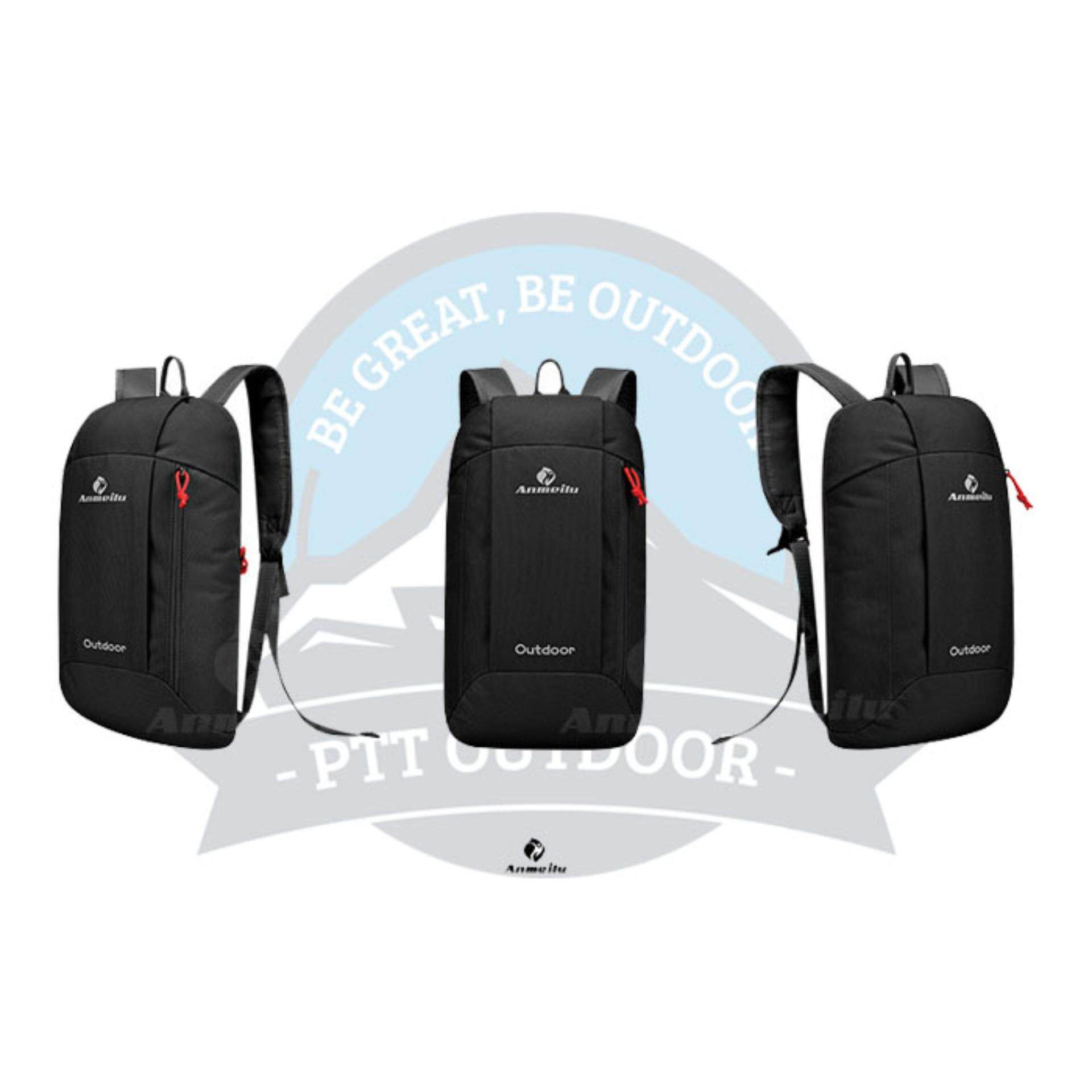 [READY STOCK] ANMEILU Portable Outdoor 10L Bagpack - BLACK