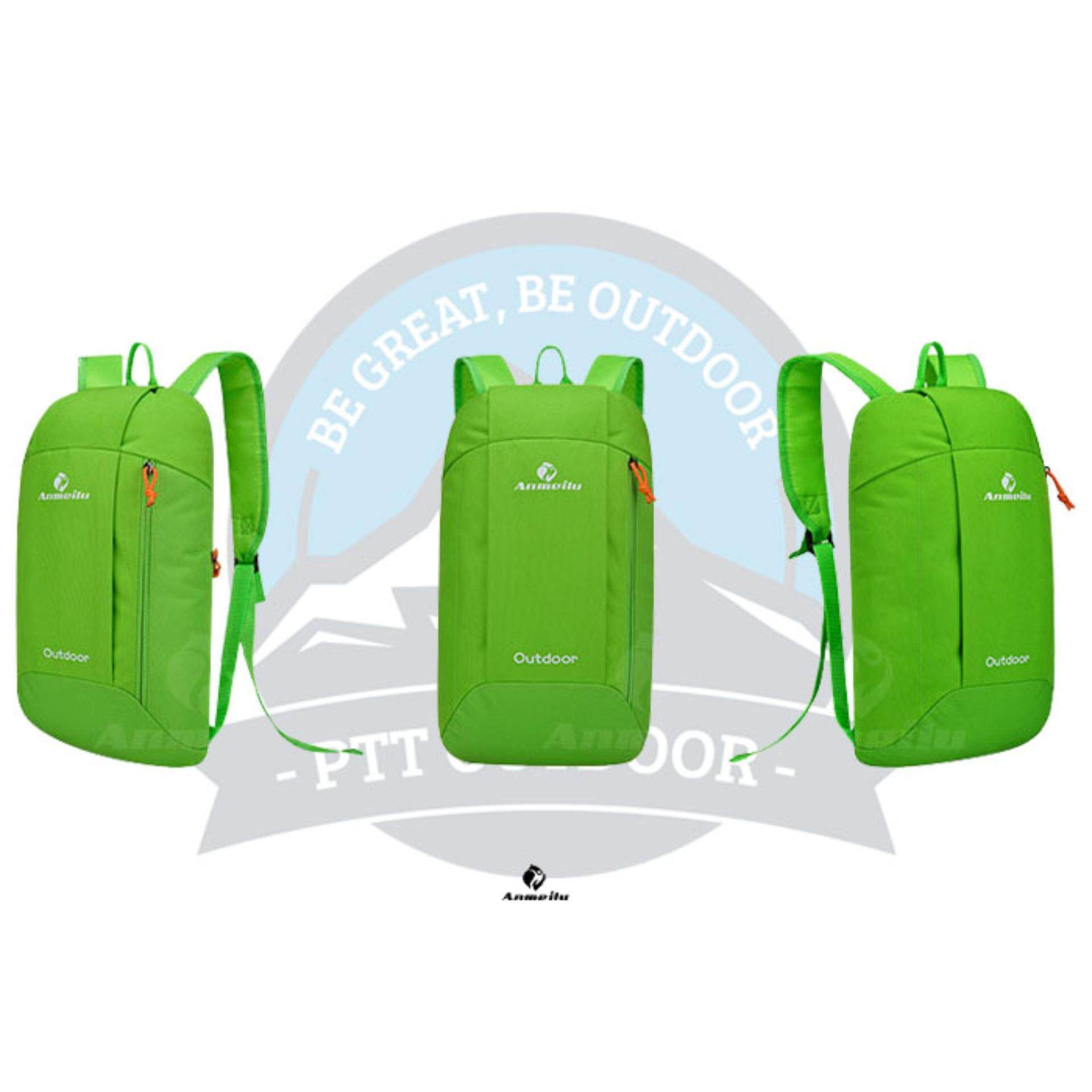 [READY STOCK] ANMEILU Portable Outdoor 10L Bagpack - GREEN