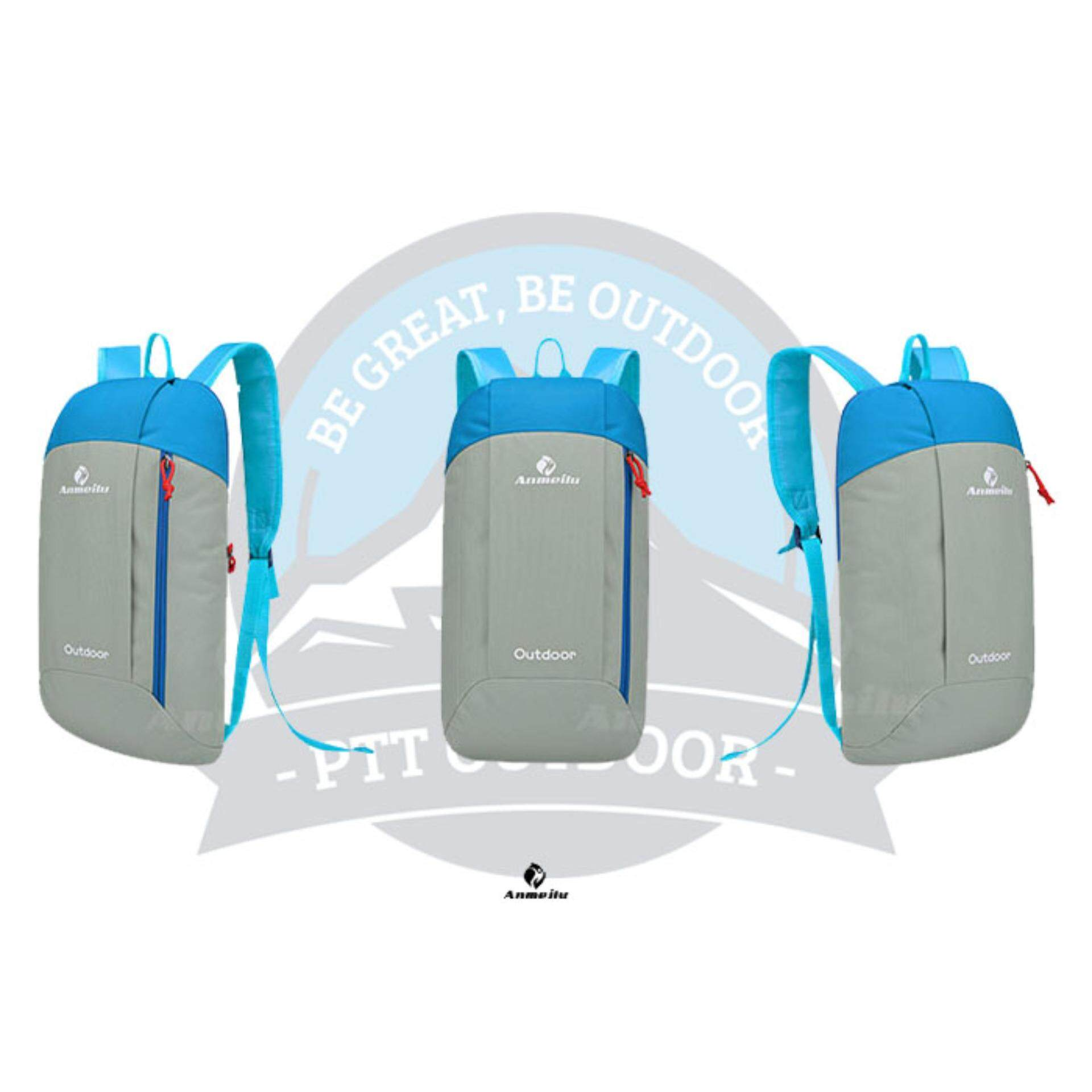 [READY STOCK] ANMEILU Portable Outdoor 10L Bagpack - GREY