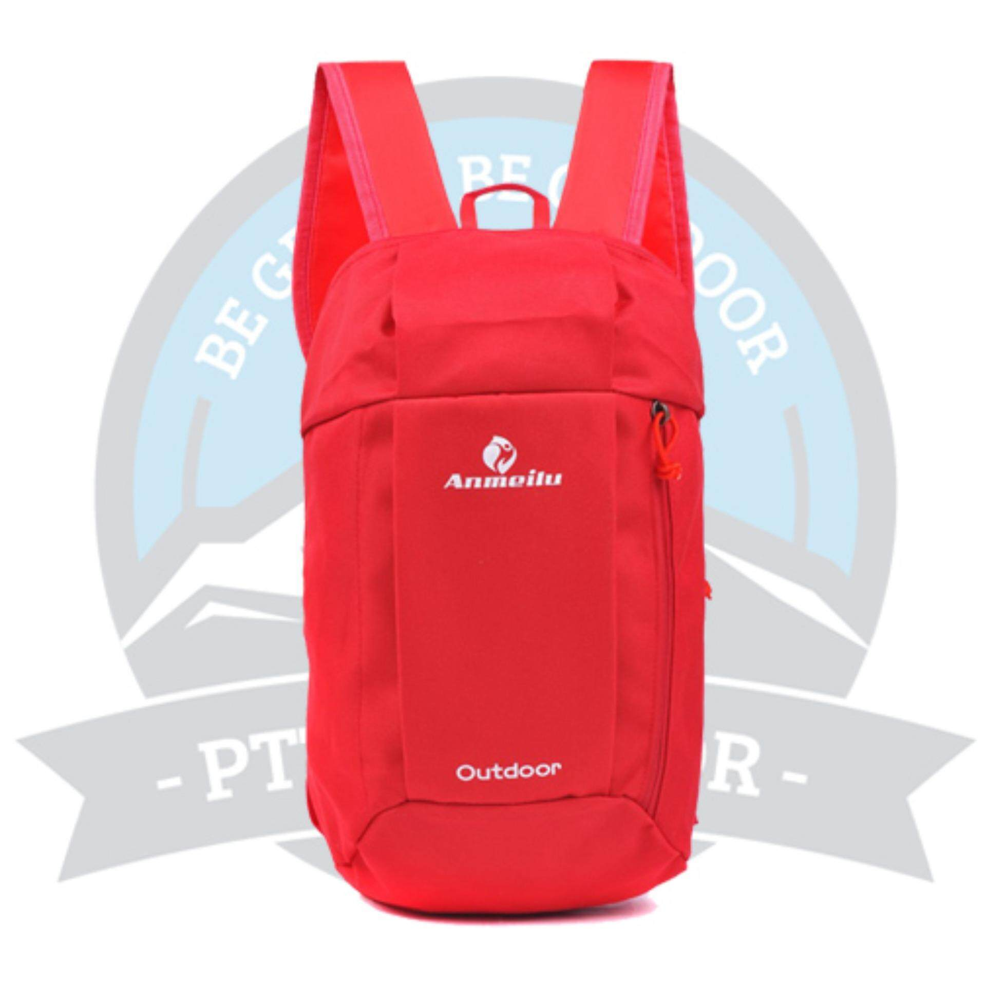 [READY STOCK] ANMEILU Portable Outdoor 10L Bagpack - RED
