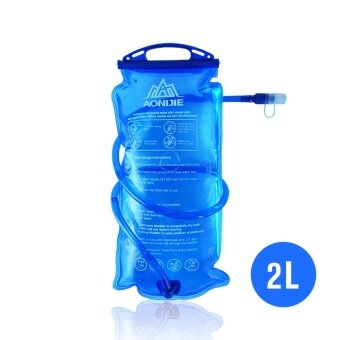 AONIJIE Outdoor Cycling Running Foldable PEVA Water Bag SportHydration Bladder for Camping Hiking Climbing 2L