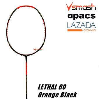 Apacs Lethal 60 International (3U) Orange Black Badminton Racket