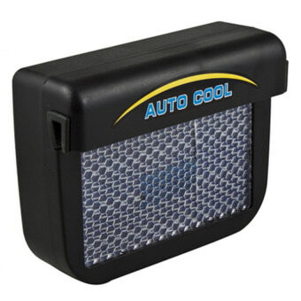 As Seen On TV Solar Wireless Car Auto Cooler Fan Cool Ventilation System