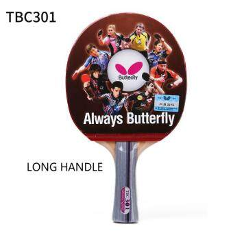 Butterfly Table tennis racket 100% origina TBC 301 Doublepimples-in rubber Ping Pong Racket (Long Handle) - 2