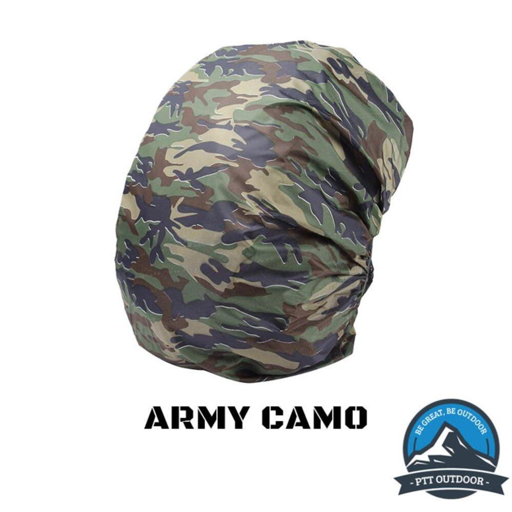Camouflage Waterproof Backpack Raincover 20L-40L - Army Green