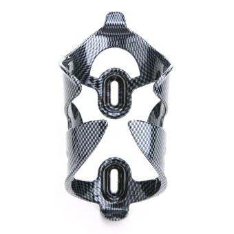 Carbon Fiber Pattern Bicycle Bike Cycling Carbon Water Bottle CageHolder