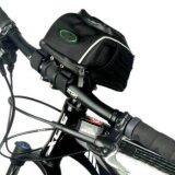 Model Bersepeda Sepeda Bingkai Depan Tabung Stang Dudukan Keranjang Beban Tas Kantong Hitam International Terbaru