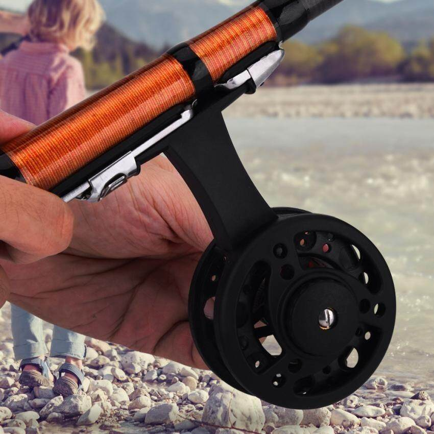 DEUKIO ABS Gear Saltwater Corrossion Resistant Left Hand Raft Ice Fly Fishing Reel (Red)