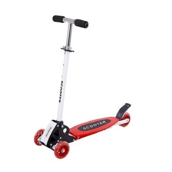 EcoSport Foldable Four 4 Wheels Scooter Red