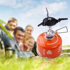 Ukuran Kecil Ringan Mini Kemah Oven Gas Kompor Portabel Memasak Gas Burner-Internasional