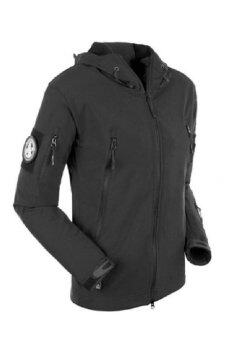 ESDY Soft Shell Tactical Windproof Jacket (Black) - 2