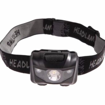 Harga FFY 3W Lightweight Headlamp Headlight flashlight headlightlamp(Black)