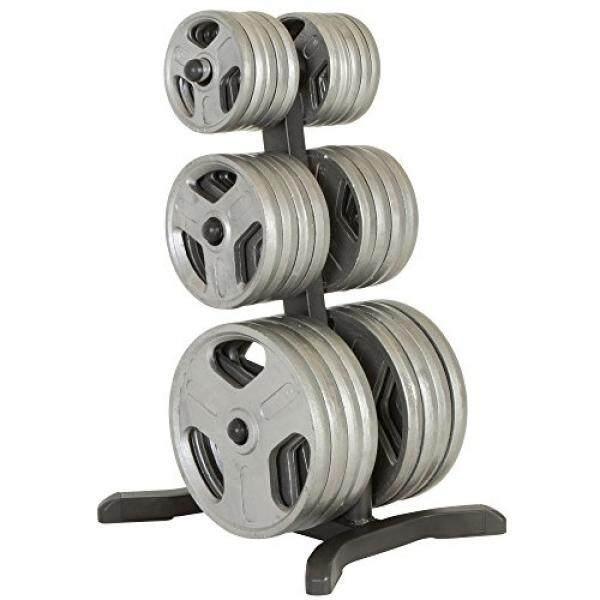 Realitas Kebugaran Olympic Weight Pohon/Piring Rak/Bar Holders/POS Penyimpanan Krom, 1000 Lb-Internasional