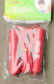 Fitness weight loss wood Primary School kindergarten sports skipping rope skipping