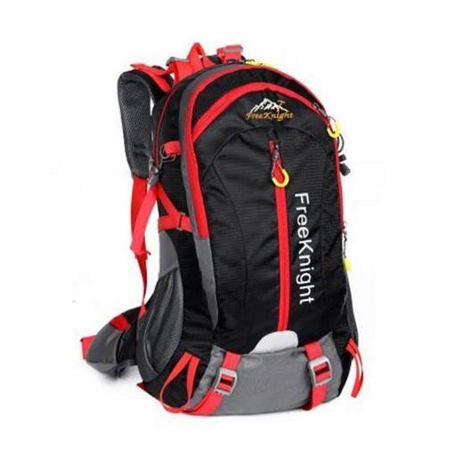 878a640a84 FREE KNIGHT FK0215 30L NYLON WATER RESISTANT BACKPACK RUCKSACK FOR  MOUNTAINEERING CAMPING HIKING TRAVELING (BLACK)