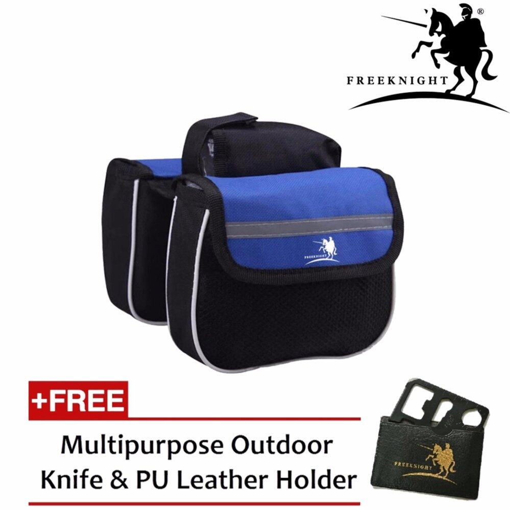 Free Knight FK093 Bicycle Double sided Pouch For Storage- Blue