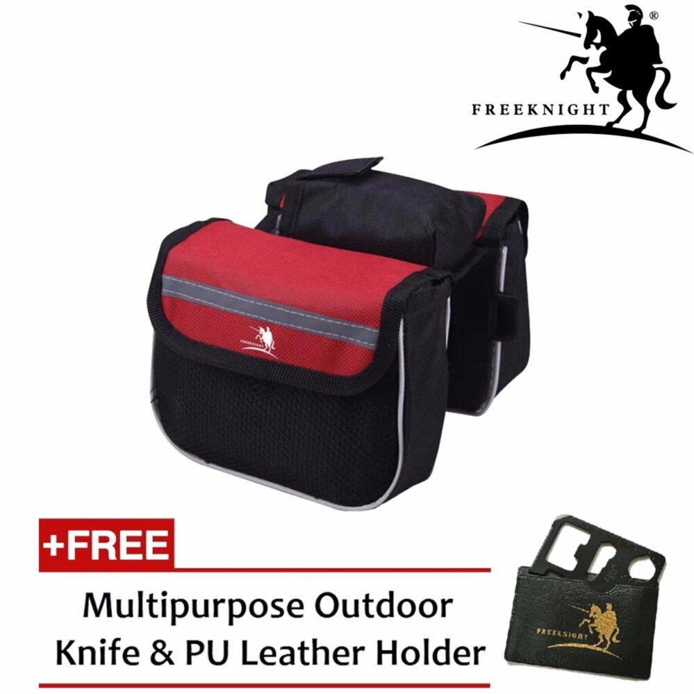 Free Knight FK093 Bicycle Double sided Pouch For Storage- Red