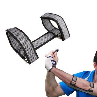 Harga Golf Elbow Arc Posture Corrector Crank Arm Trainer Practice forBeginners