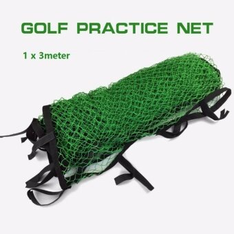Harga Golf Practice Net Nylon Netting Sports Barrier Impact Training Netwith Velcro Easy to Fasten 3 Square Meter Net