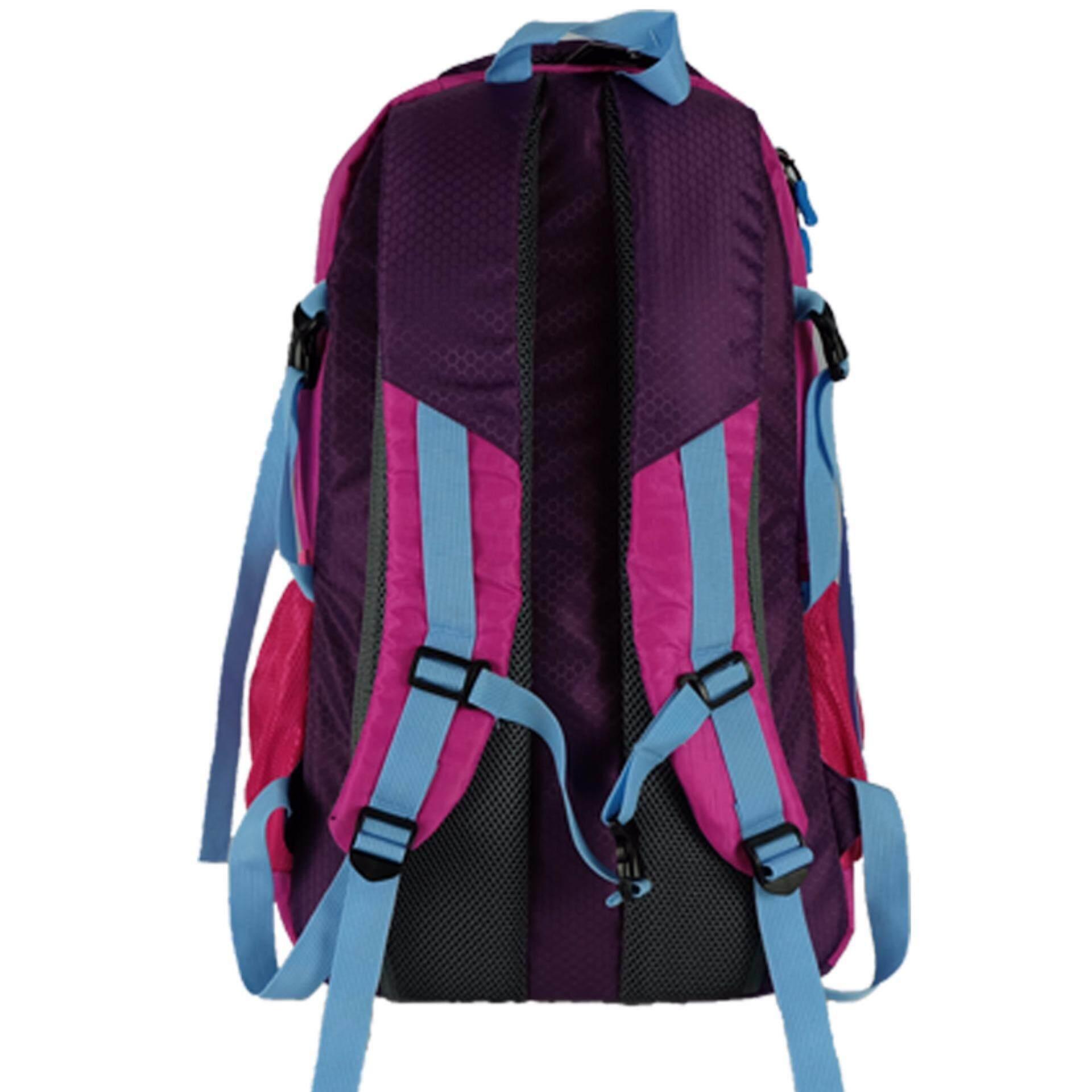 HH9613 Haitop 48L Hiking Backpack- Hot Pink