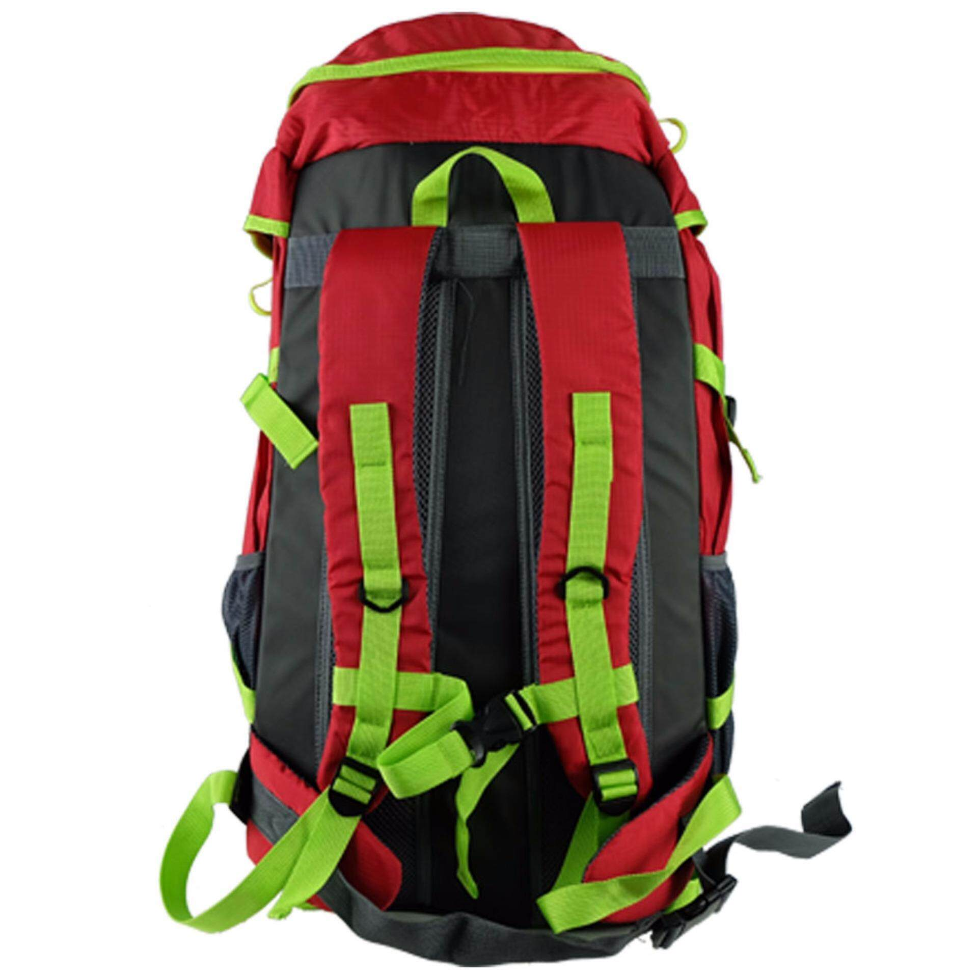 HH9616 Haitop 65L Hiking Backpack- Red