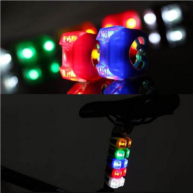 ... Kualitas Tinggi Lampu Sepeda Enam Generasi Katak Lampu Sepeda Gunung Lampu Hias Lampu Peringatan Keselamatan-