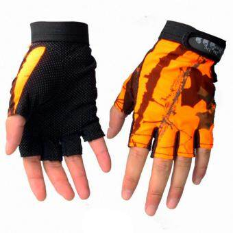 Harga Hot Sales Fingerless Gloves Breathable Antiskid Fishing GlovesOutdoor Waterproof Sun Protection Gloves