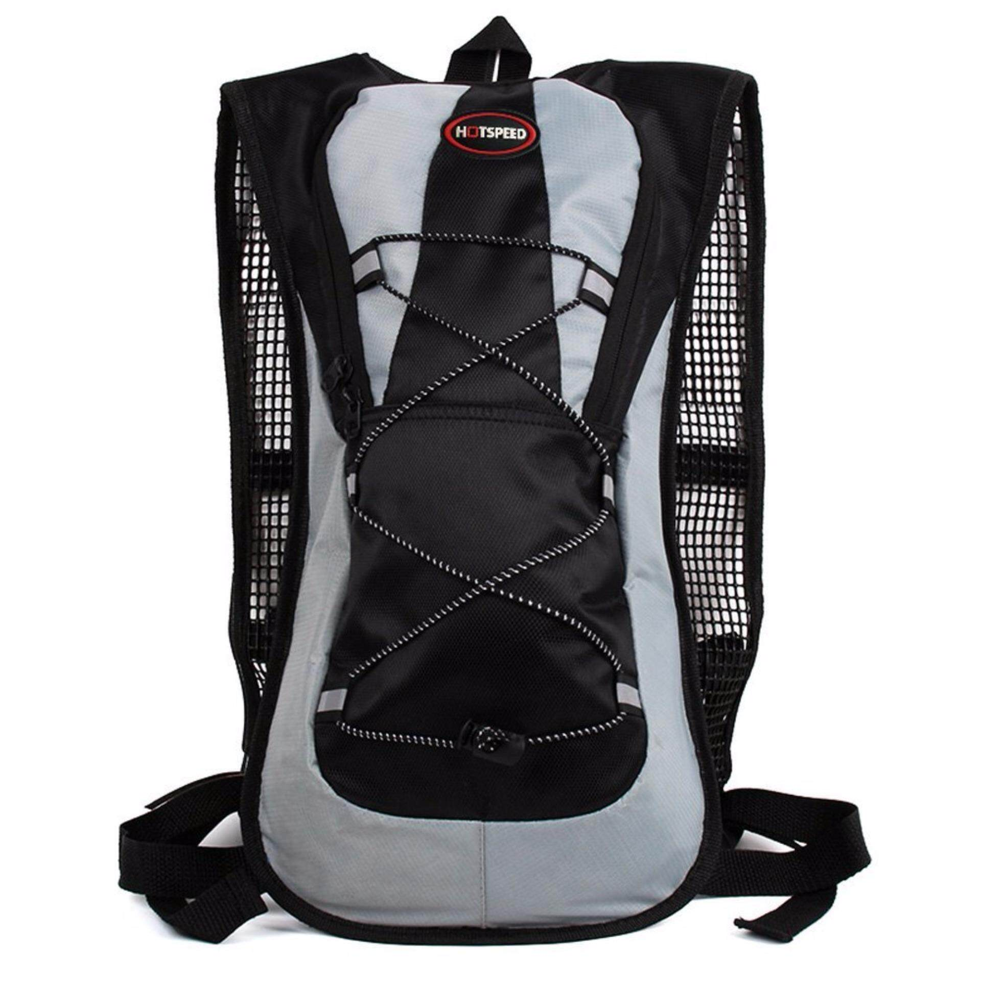 [FREE DELIVERY] Hotspeed 5L Hydration Backpack Hydration Bag Cycling Bag for Cycling Hiking - Black