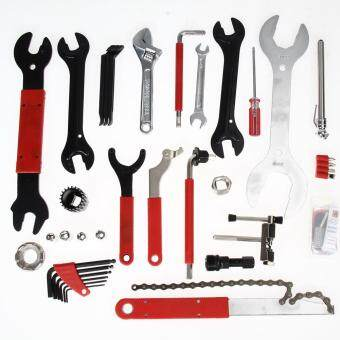 Harga 46pcs Bike Cycling Bicycle Maintenance Repair Hand Wrench Tool Kit