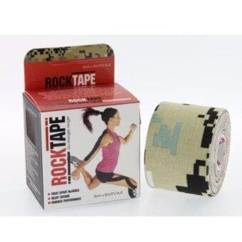 Harga ROCKTAPE ACTIVE-RECOVERY SERIES TAPE 5M - CAMO
