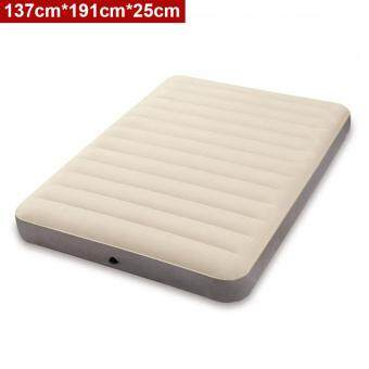 Harga INTEX (64702) 1.37 Meter Dura-Beam Series Deluxe Queen Size High Inflatable Airbed Mattress [NP122]