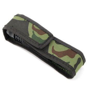 Harga Camouflage C8 18cm Holster Pouch Bag Case Cover for LED Torch Flashlight MS - Intl-