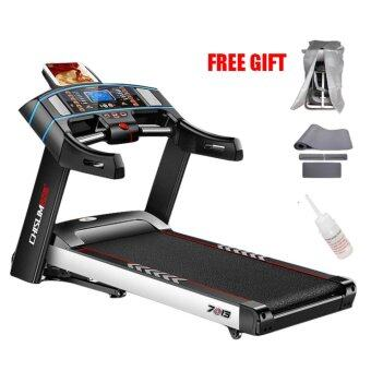 Harga 4.0HP Chislim 7013 Electric Auto Incline Decline Treadmill 62CM Wide Running Platform With Auto Refueling System & 4Ways Shock Absorption Spring Damping System (Single Function)