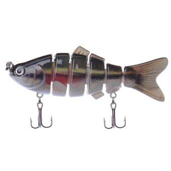Harga Swimbait 6 Jointed Sections Fishing Lure Crankbait Bass Bait Life-like