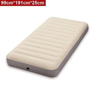Harga INTEX (64701) 0.99 Meter Dura-Beam Series Deluxe Single Size High Inflatable Airbed Mattress [NP92]