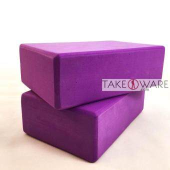 Harga EVA Yoga Block Set ( 2pcs ) / Yoga Brick Set