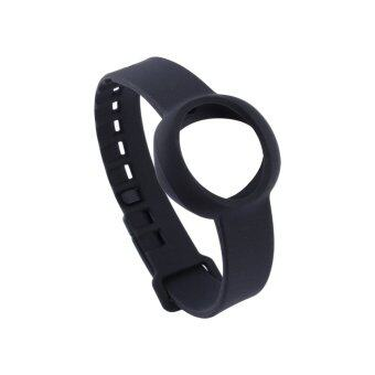 Harga Silicone Replacement Wristband Strap Bracelet for Jawbone Up Move Tracker(Black)