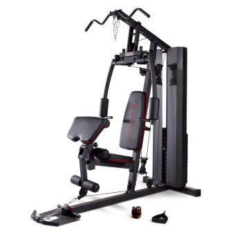 Harga MULTIPURPOSE home gym set fitness deluxe with precher curl muscle