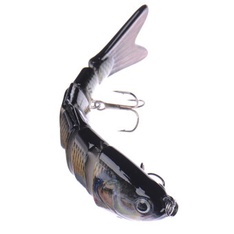 Harga Swimbait 6 Sections Fishing Lure Crankbait Bass Bait Life-like