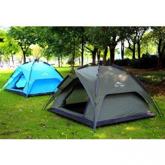 Harga Outdoor Camping Large Dome Tent - Blue