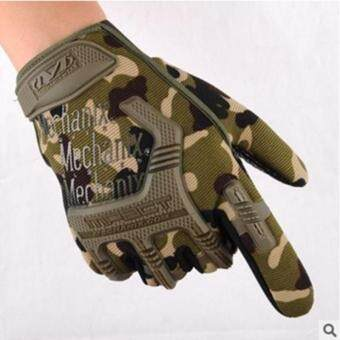 Harga Gym Gloves for Men Protect Your Hands & Improve Your Grip -Weightlifting Gloves - Easy To Pull on & Off (camouflage)