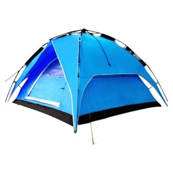 Harga EcoSport Dome Tent For 4 Person (Blue)