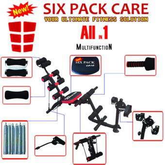 Harga 6 PACK CARE Wonder Core 7 in 1 Abdominal Exercise Health Care with Bikes Function
