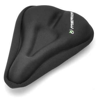 Harga Fudun (Two Seat Covers) Merida Bike Bicycle Cycling Soft Breathable 3D Silicone Saddle Cushion Seat Covers (Two Seat Covers in One)