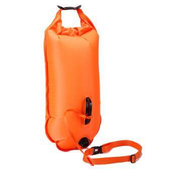 Harga Sealhike Swim Buoy - Safe Swimmer Water Safety Swimmer Float Bag with Dry Store Bag Orange 30L