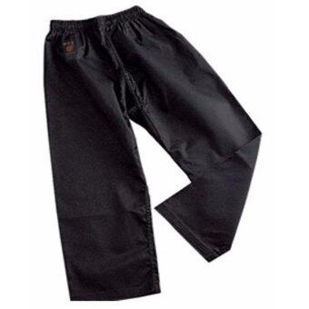 Harga Karate Kendo Taekwondo Martial Arts Art Black Uniform Baju Silat Pant 120CM