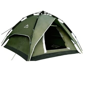 Harga EcoSport Dome Tent For 4 Person (Green)