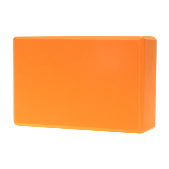 Harga High Density Yoga Block Eva Yoga Block Yoga Aids Orange