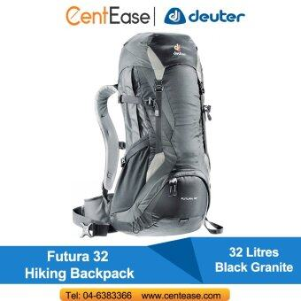 Harga Deuter Futura 32 Hiking Backpack- Black Granite