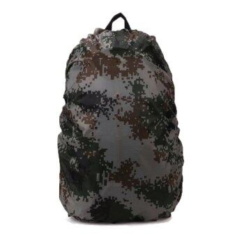 Harga Suitcase Covers Waterproof Backpack Rain Cover Luggage Protective Covers 35L_Camouflage